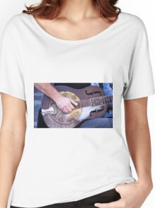 Steel Guitar - Madison Farmers Market Women's Relaxed Fit T-Shirt