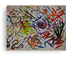 The DoODLrY  Canvas Print