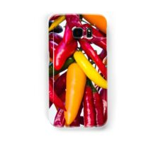 Peppers - Farmers Market - Madison - Wisconsin Samsung Galaxy Case/Skin