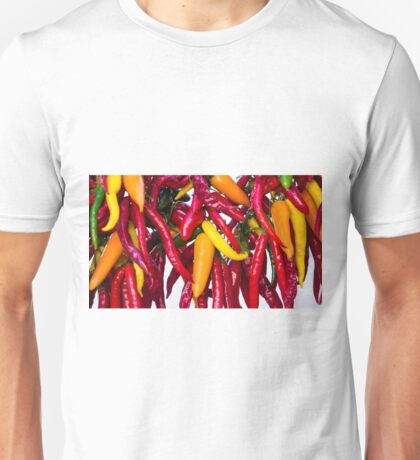 Peppers - Farmers Market - Madison - Wisconsin Unisex T-Shirt