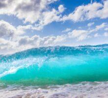 Blue Surf Sticker