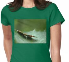 Painted Lady Butterfly - Cradled Womens Fitted T-Shirt