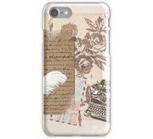 A Writer's World iPhone Case/Skin