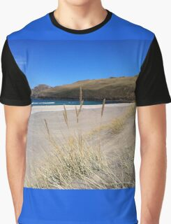 A Hebridean Beach In Early April Graphic T-Shirt