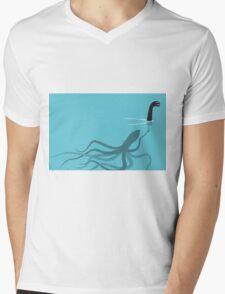 Fake Monster Mens V-Neck T-Shirt