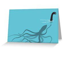 Fake Monster Greeting Card