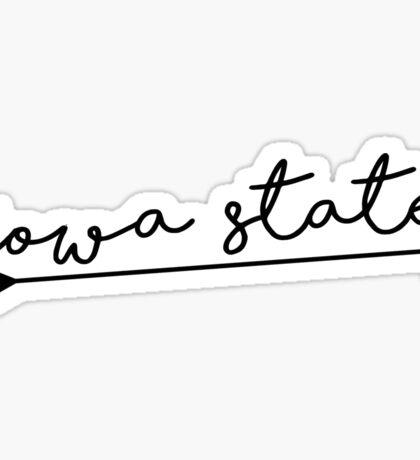 Iowa State Arrow  Sticker
