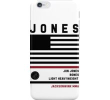 Jon Jones Fight Camp iPhone Case/Skin