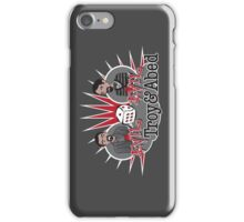 Evil Troy & Evil Abed iPhone Case/Skin