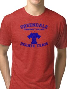 Greendale Debate Team Tri-blend T-Shirt