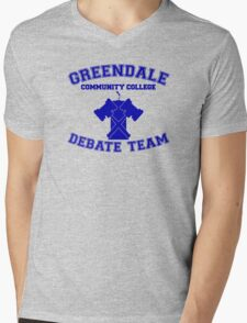 Greendale Debate Team Mens V-Neck T-Shirt