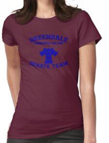 Greendale Debate Team Womens Fitted T-Shirt