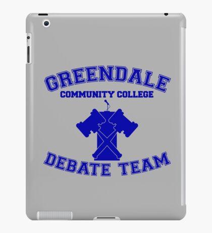 Greendale Debate Team iPad Case/Skin