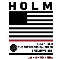 Holly Holm Fight Camp Photographic Print