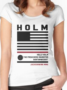 Holly Holm Fight Camp Women's Fitted Scoop T-Shirt