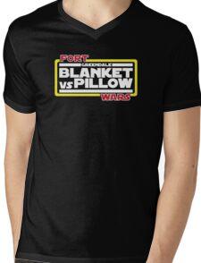 Greendale Fort Wars: Blanket vs Pillow Mens V-Neck T-Shirt