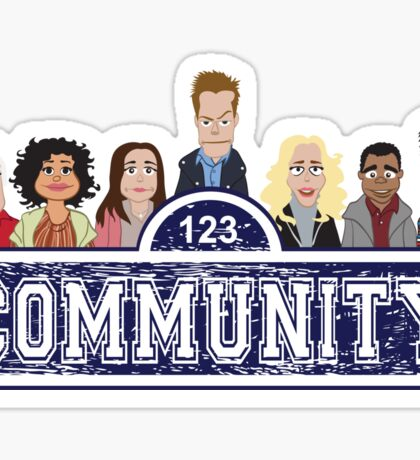 Community Street Sticker