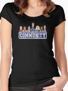 Community Street Women's Fitted Scoop T-Shirt