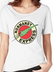 The Planet Express Parody: Mass Effect Women's Relaxed Fit T-Shirt