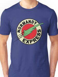 The Planet Express Parody: Mass Effect Unisex T-Shirt