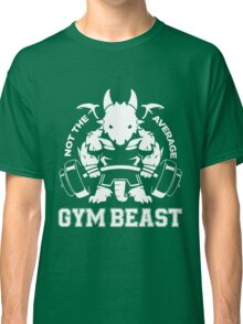 Not the average GYM BEAST Classic T-Shirt