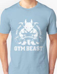 Not the average GYM BEAST Unisex T-Shirt