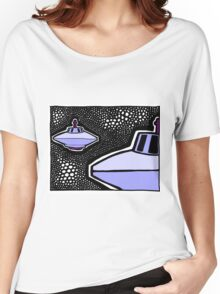 From the Beamship Portal COLORIZED Women's Relaxed Fit T-Shirt