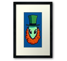 The Other Little Green Man Framed Print