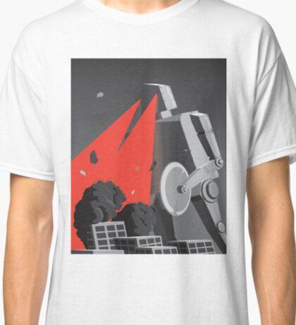 City destruction by massive robot (colour) Classic T-Shirt
