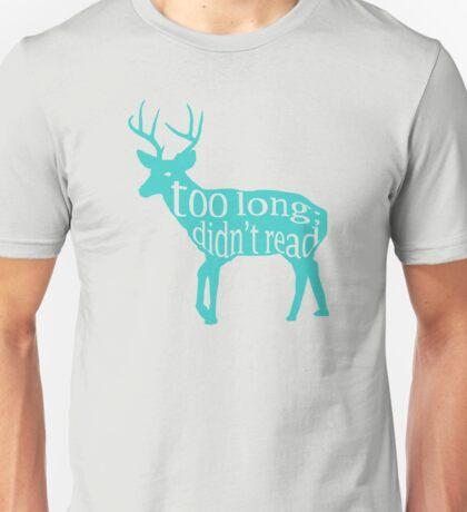 The Teal Deer Unisex T-Shirt