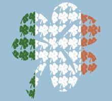 Shamrock Irish Flag One Piece - Short Sleeve