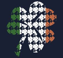 Shamrock Irish Flag One Piece - Long Sleeve
