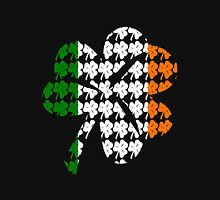 Shamrock Irish Flag Womens Fitted T-Shirt
