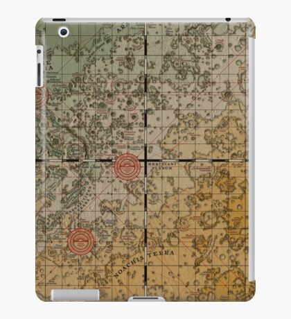 Here there be robots iPad Case/Skin