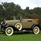 1931 Ford Model A Roadster by TeeMack