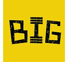 Big in the gym Photographic Print