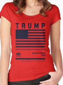 Donald Trump 2016 Women's Fitted Scoop T-Shirt