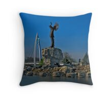 Keeper of the Plains Throw Pillow
