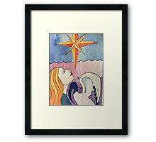 The Star Tarot Card Framed Print