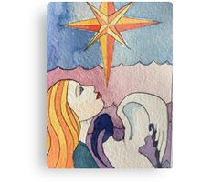 The Star Tarot Card Metal Print