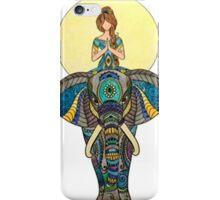 Zen Yoga Elephant iPhone Case/Skin