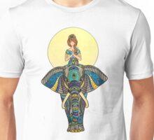 Zen Yoga Elephant Unisex T-Shirt