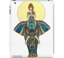 Zen Yoga Elephant iPad Case/Skin