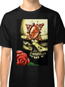 Skull and Rose Classic T-Shirt