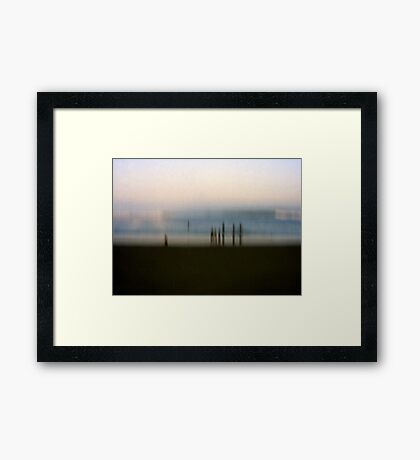 Edge of Reality #2 Framed Print