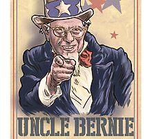 Uncle Bernie wants you! by MontyBorror