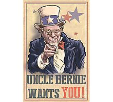 Uncle Bernie wants you! Photographic Print