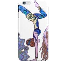 Yoga girl iPhone Case/Skin