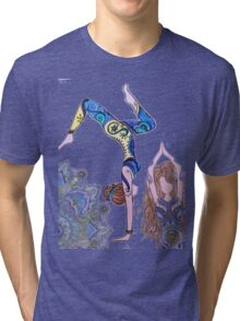 Yoga girl Tri-blend T-Shirt
