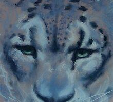 snow leopard by opheliasfiction